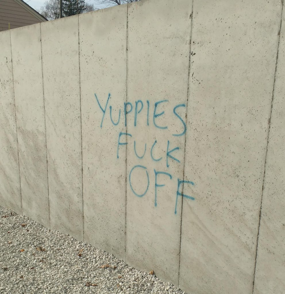 Yuppies Fuck Off